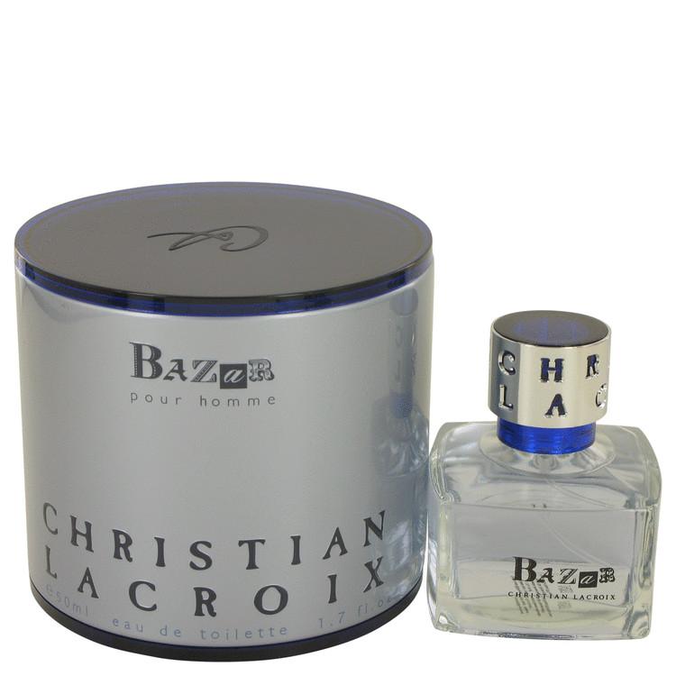 Bazar by Christian Lacroix for Men Eau De Toilette Spray 1.7 oz