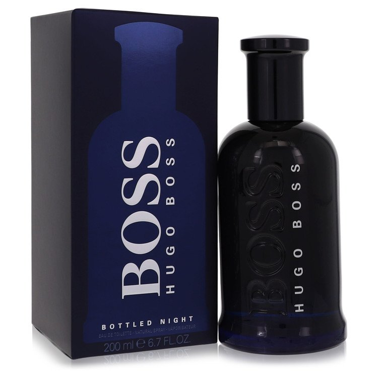 Boss Bottled Night Eau De Toilette Spray By Hugo Boss 6.7oz
