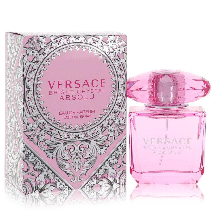 Bright Crystal Absolu Eau De Parfum Spray By Versace 1.0oz