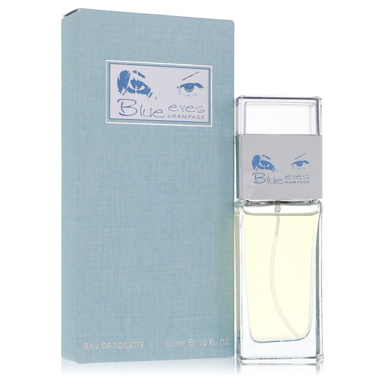 Blue Eyes Eau De Toilette Spray By Rampage 1.0oz