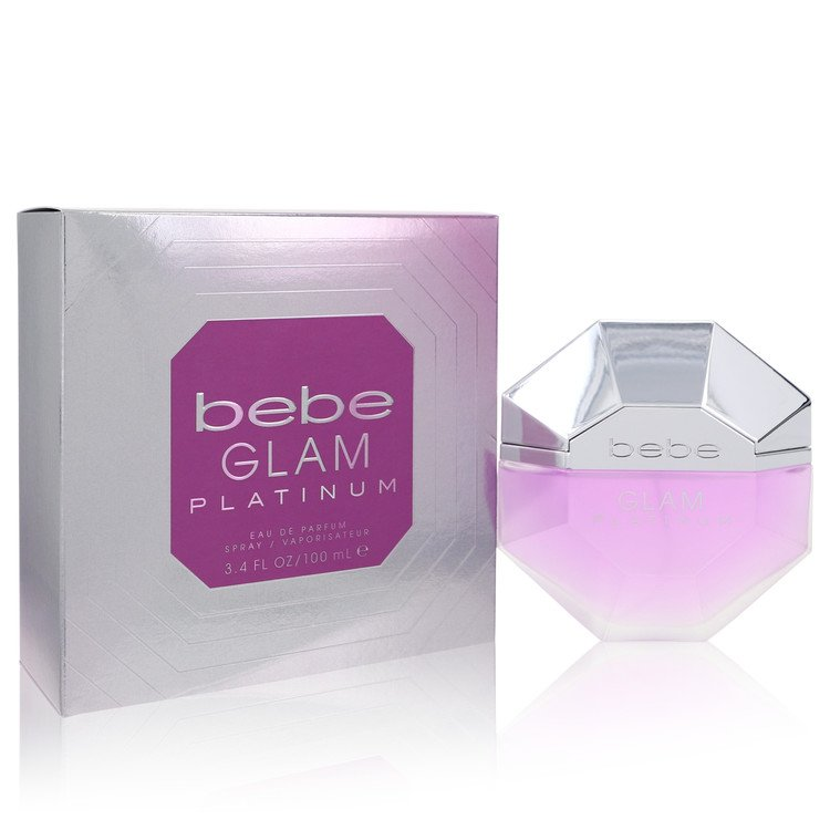 Bebe Glam Platinum Eau De Parfum Spray By Bebe 3.4oz