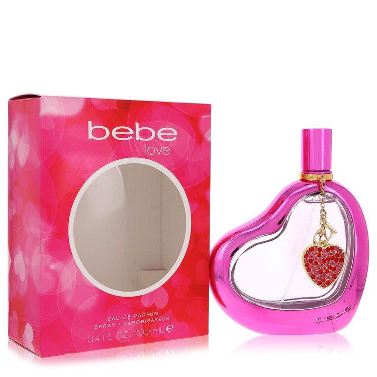 Bebe Love Eau De Parfum Spray By Bebe 3.4oz