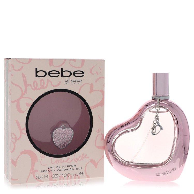 Bebe Sheer Eau De Parfum Spray By Bebe 3.4oz