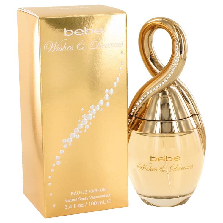 Bebe Wishes and Dreams Eau De Parfum Spray By Bebe 3.4oz