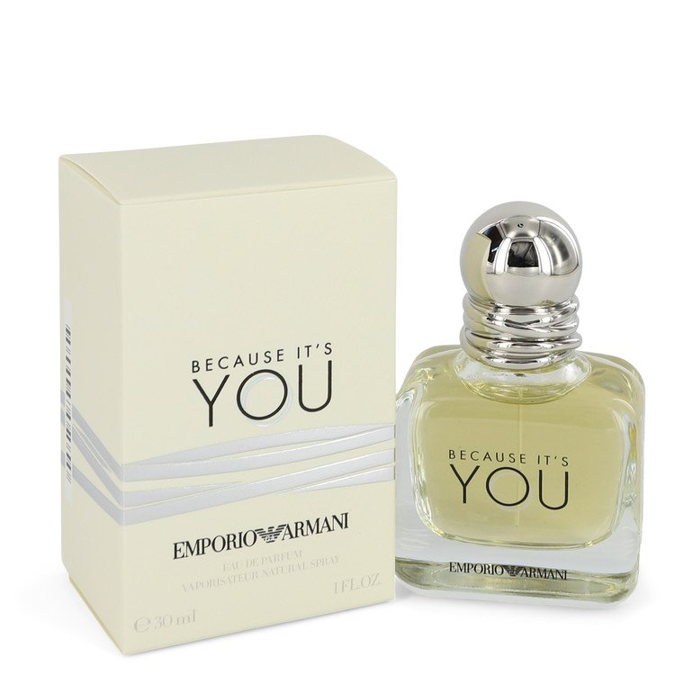Because It`s You Eau De Parfum Spray By Giorgio Armani 1.0oz