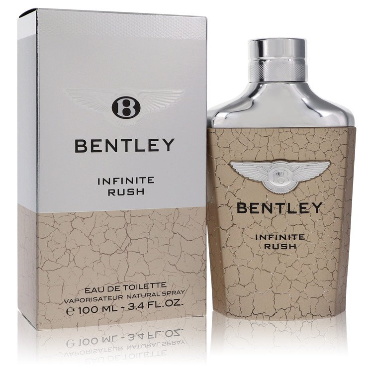 Bentley Infinite Rush Eau De Toilette Spray By Bentley 3.4oz