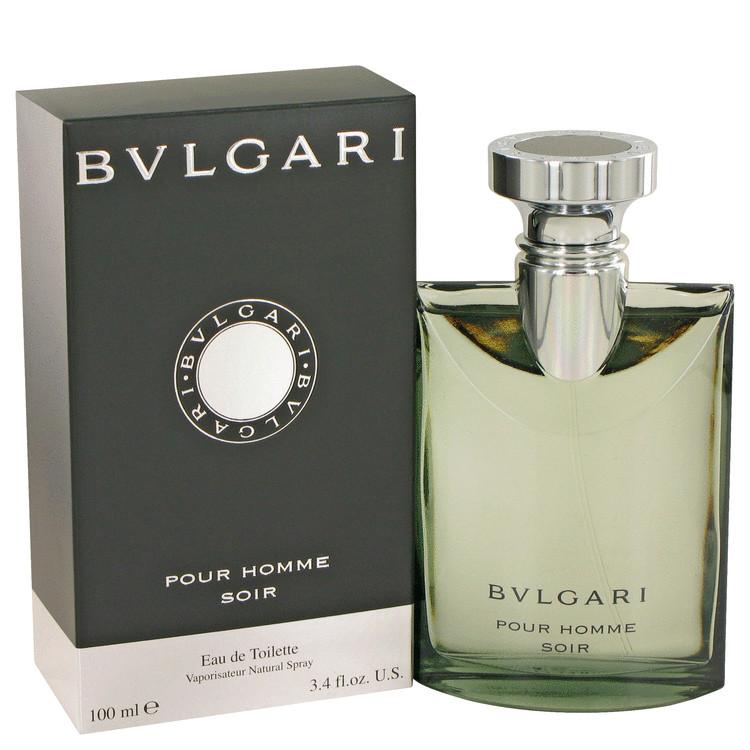 Bvlgari Pour Homme Soir Eau De Toilette Spray By Bvlgari 100ml