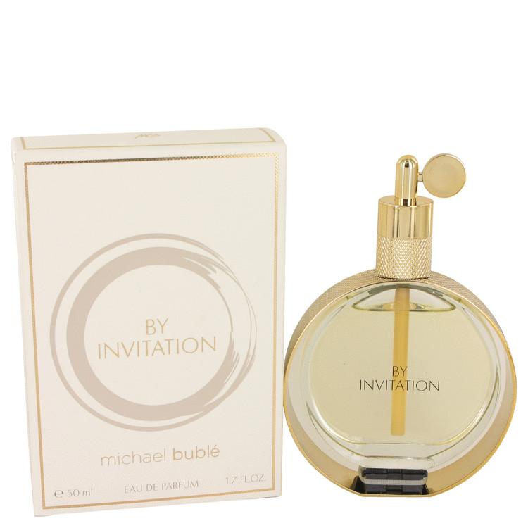 By Invitation by Michael Buble for Women Eau De Parfum Spray 1.7 oz