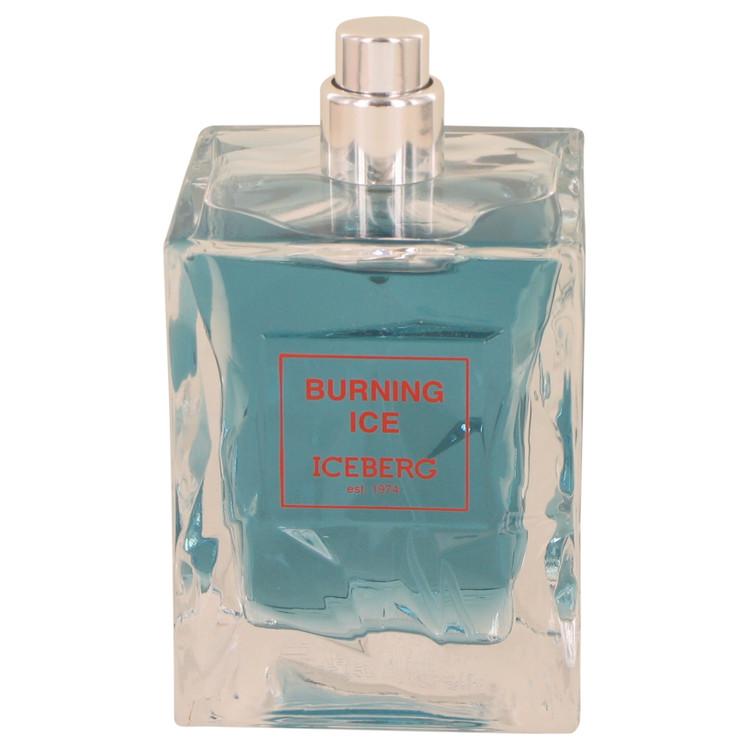 Burning Ice by Iceberg for Men Eau De Toilette Spray (Tester) 3.3 oz