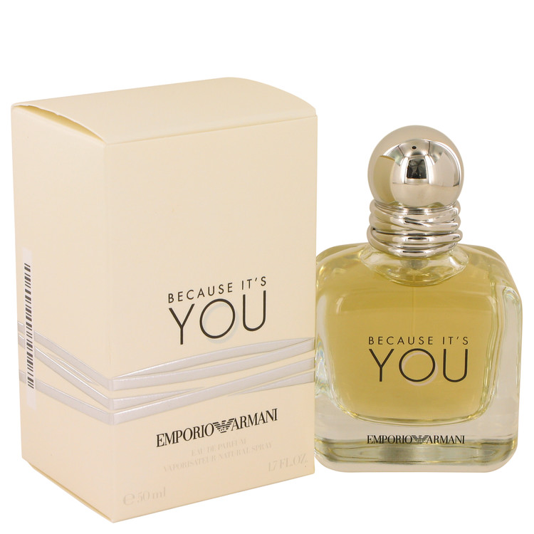 Because It`s You Eau De Parfum Spray By Giorgio Armani 1.7oz