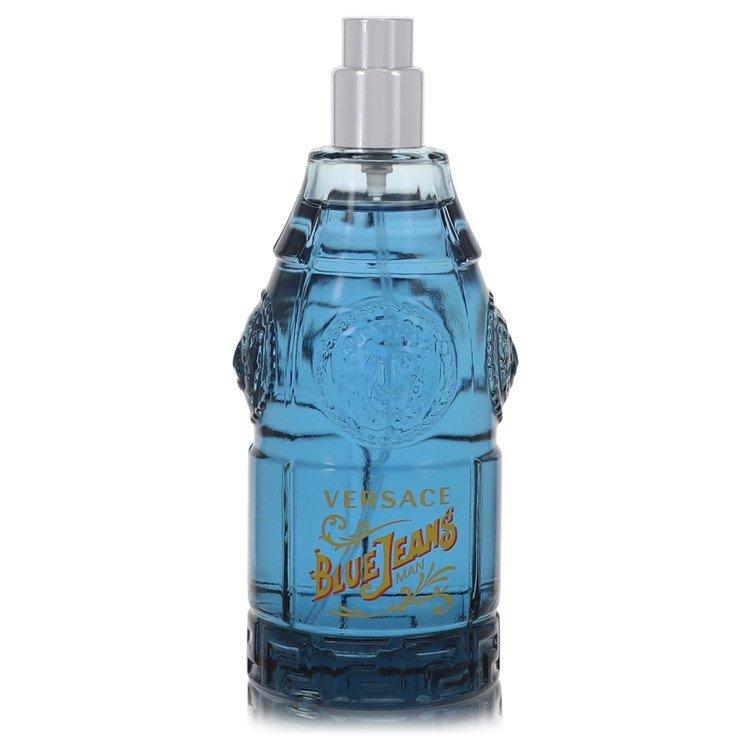 Blue Jeans Eau De Toilette Spray (Tester New Packaging) By Versace 2.5oz