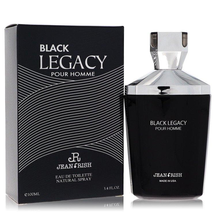 Black Legacy Pour Homme Eau De Toilette Spray By Jean Rish 3.4oz