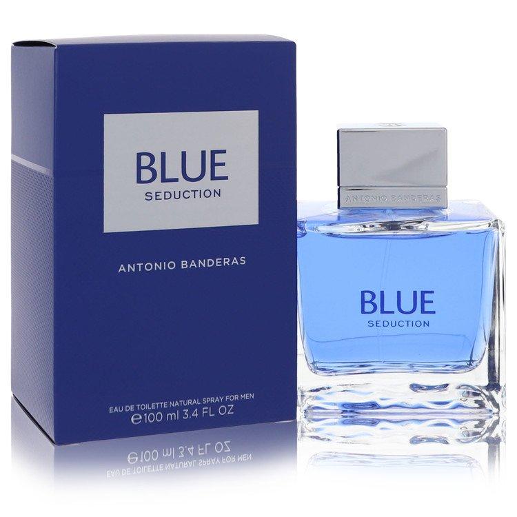 Blue Seduction Eau De Toilette Spray By Antonio Banderas 3.4oz
