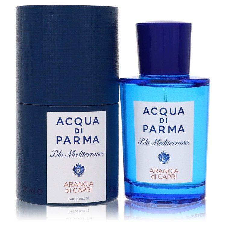 Blu Mediterraneo Arancia Di Capri Eau De Toilette Spray By Acqua Di Parma 2.5oz