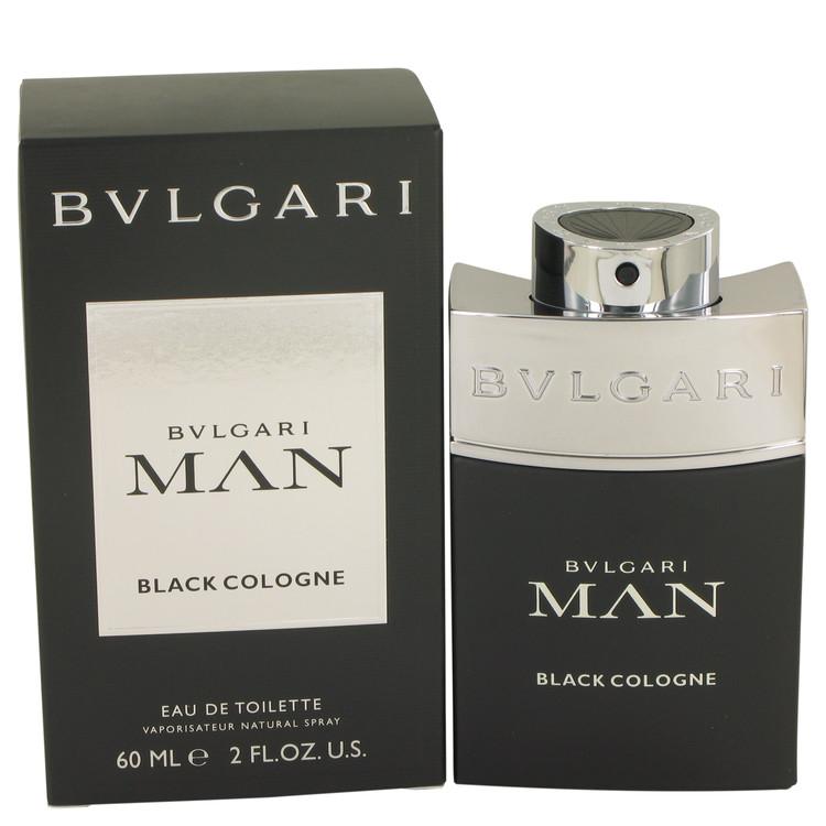 Bvlgari Man Black Cologne Eau De Toilette Spray By Bvlgari 60ml