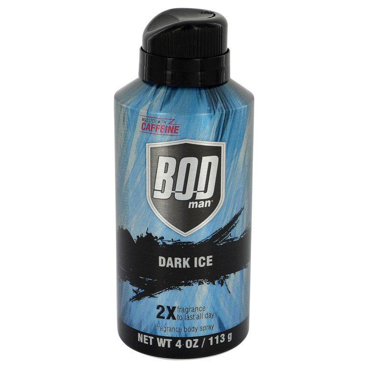 Bod Man Dark Ice Body Spray By Parfums De Coeur 4.0oz