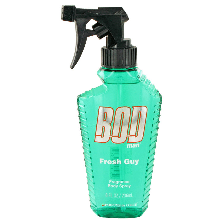 Bod Man Fresh Guy Fragrance Body Spray By Parfums De Coeur 8.0oz