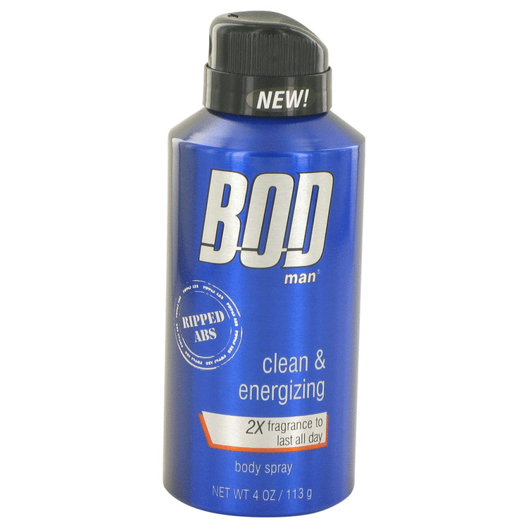 Bod Man Really Ripped Abs Fragrance Body Spray By Parfums De Coeur 120ml