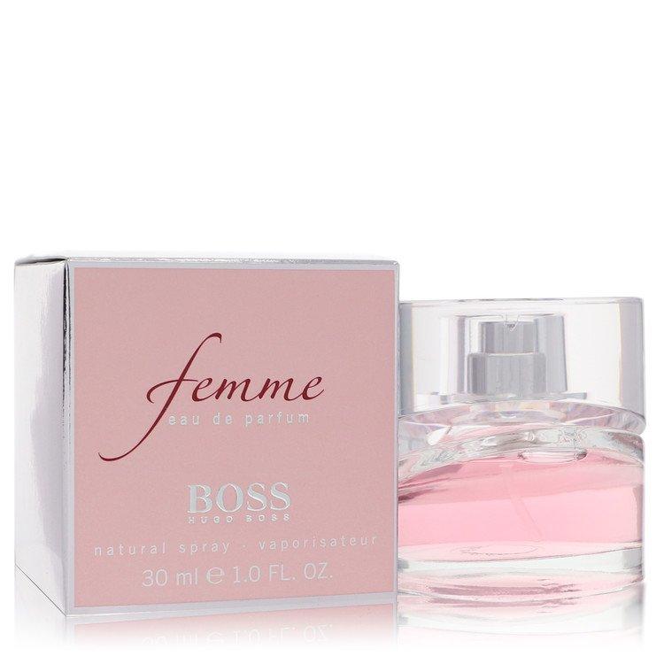Boss Femme Eau De Parfum Spray By Hugo Boss 1.0oz
