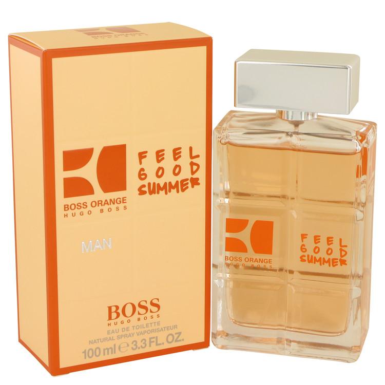 Boss Orange Feel Good Summer Eau De Toilette Spray By Hugo Boss 3.3oz