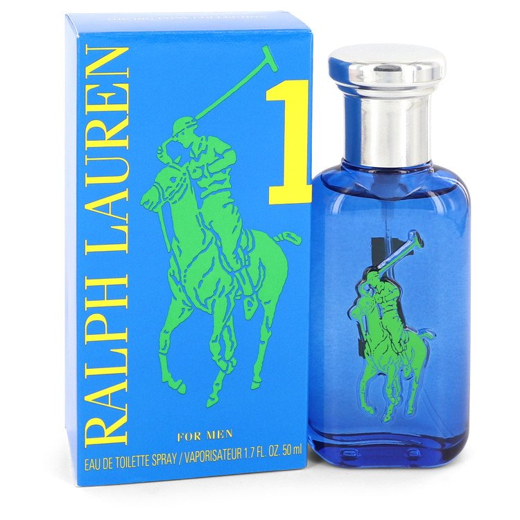 Big Pony Blue Eau De Toilette Spray By Ralph Lauren 1.7oz