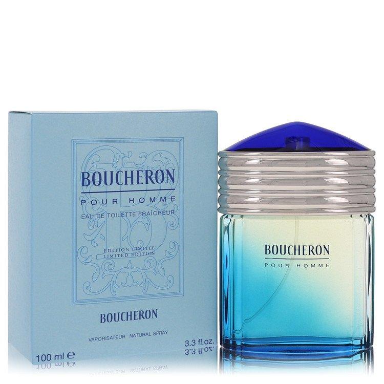 Boucheron Eau De Toilette Fraicheur Spray (Limited Edition) By Boucheron 3.4oz