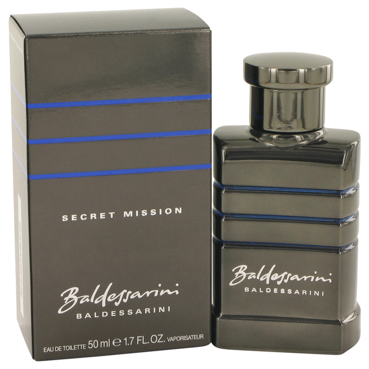 Baldessarini Secret Mission Eau De Toilette Spray By Hugo Boss 1.7oz