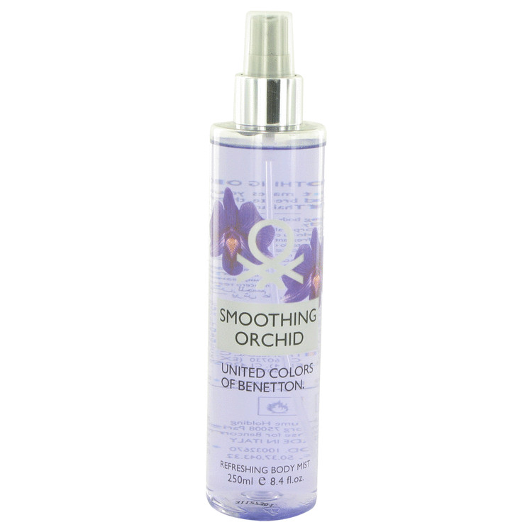 Benetton Smoothing Orchid Refreshing Body Mist By Benetton 8.4oz