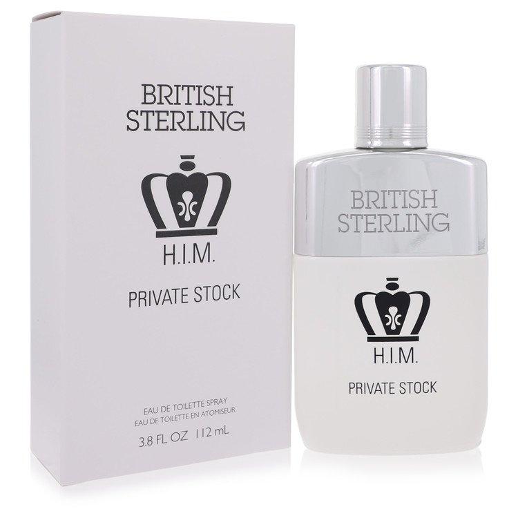 British Sterling Him Private Stock Eau De Toilette Spray By Dana 112ml
