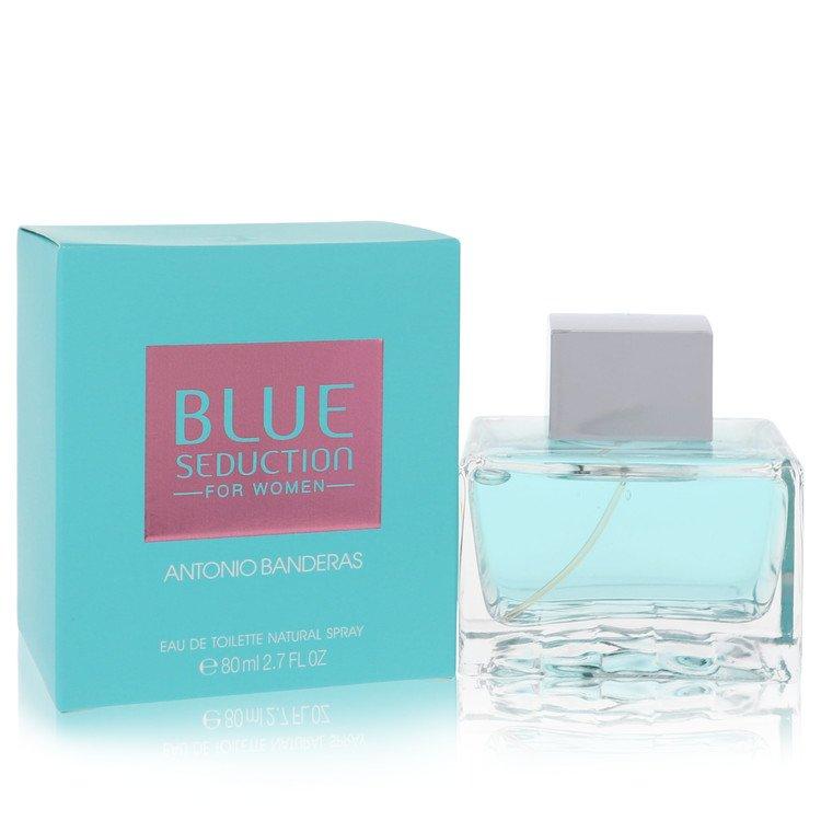 Blue Seduction Eau De Toilette Spray By Antonio Banderas 2.7oz