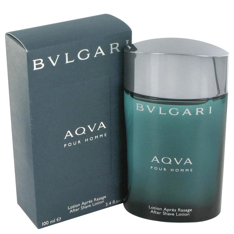 AQUA POUR HOMME by Bvlgari for Men After Shave Lotion 3.4 oz