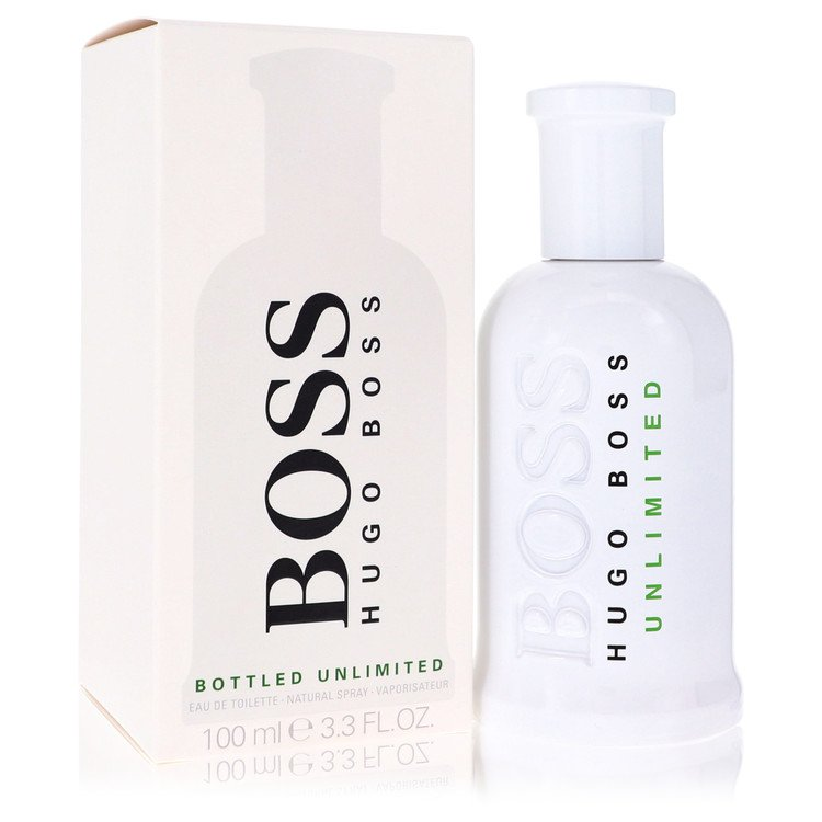 Boss Bottled Unlimited Eau De Toilette Spray By Hugo Boss 3.3oz
