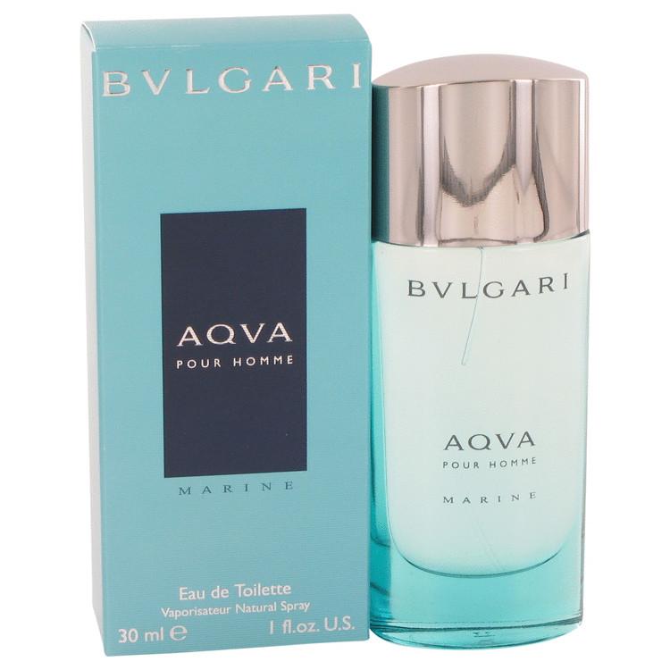 Bvlgari Aqua Marine by Bvlgari for Men Eau De Toilette Spray 1 oz