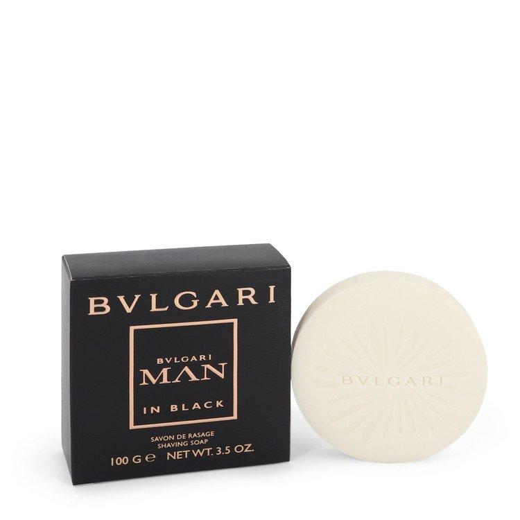 Bvlgari Man In Black Shaving Soap By Bvlgari 104ml