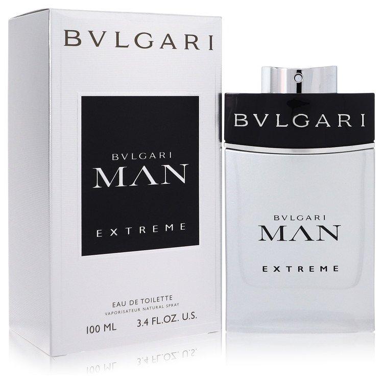 Bvlgari Man Extreme Eau De Toilette Spray By Bvlgari 100ml