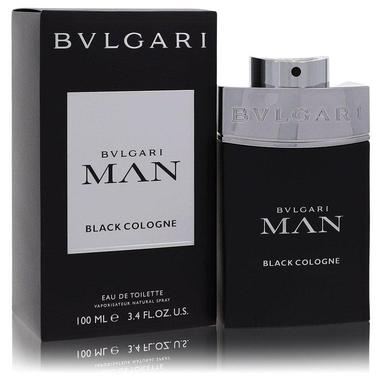 Bvlgari Man Black Cologne Eau De Toilette Spray By Bvlgari 100ml