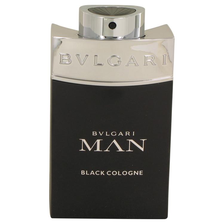 Bvlgari Man Black Cologne Eau De Toilette Spray (Tester) By Bvlgari 100ml