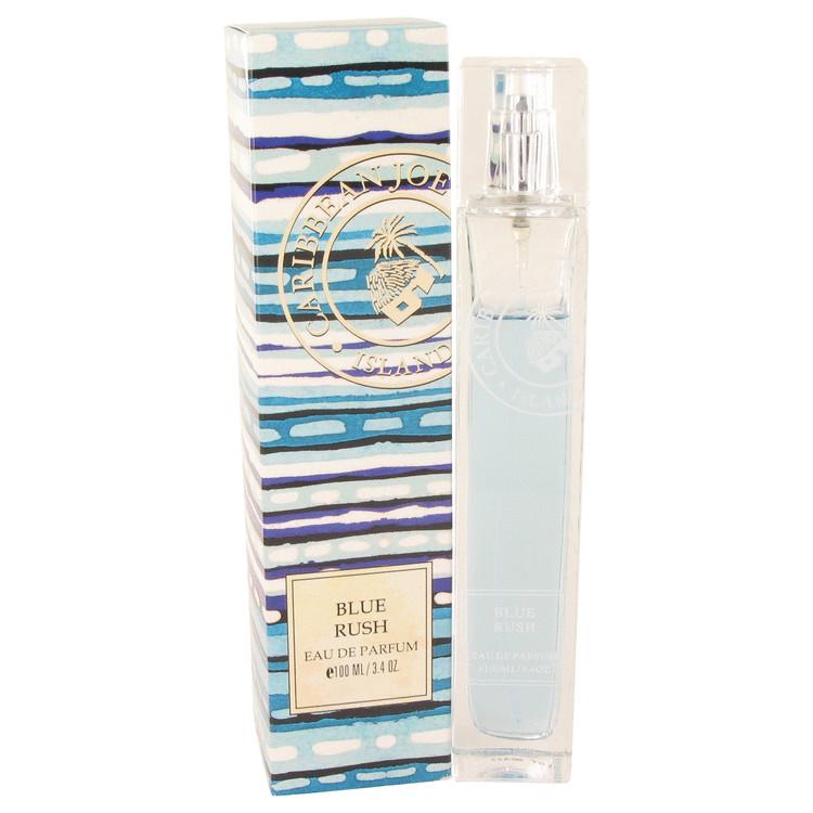 Blue Rush (caribbean Joe) Eau De Parfum Spray By Caribbean Joe 3.4oz