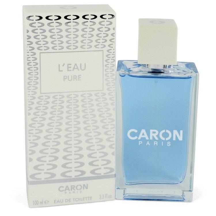 Caron L`eau Pure Eau De Toilette Spray (Unisex) By Caron 100ml