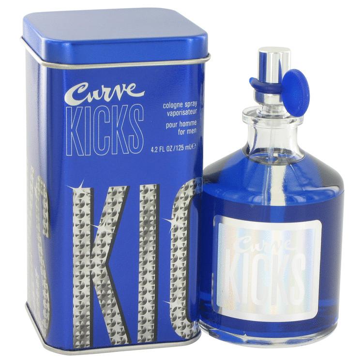 Curve Kicks by Liz Claiborne for Men Eau De Cologne Spray 4.2 oz