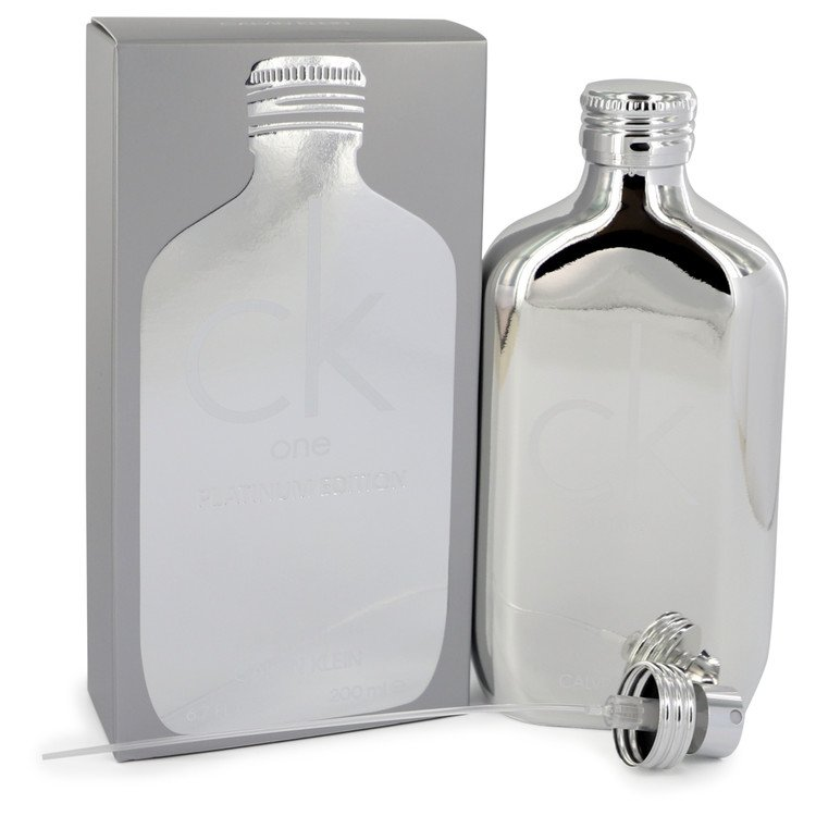 Ck One Platinum Eau De Toilette Spray (Unisex) By Calvin Klein 200ml