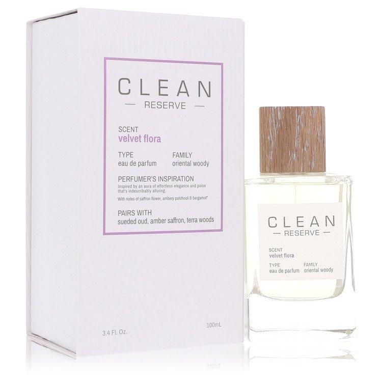 Clean Velvet Flora Eau De Parfum Spray By Clean 100ml