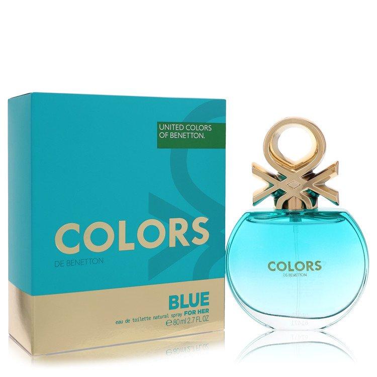 Colors De Benetton Blue Eau De Toilette Spray By Benetton 80ml