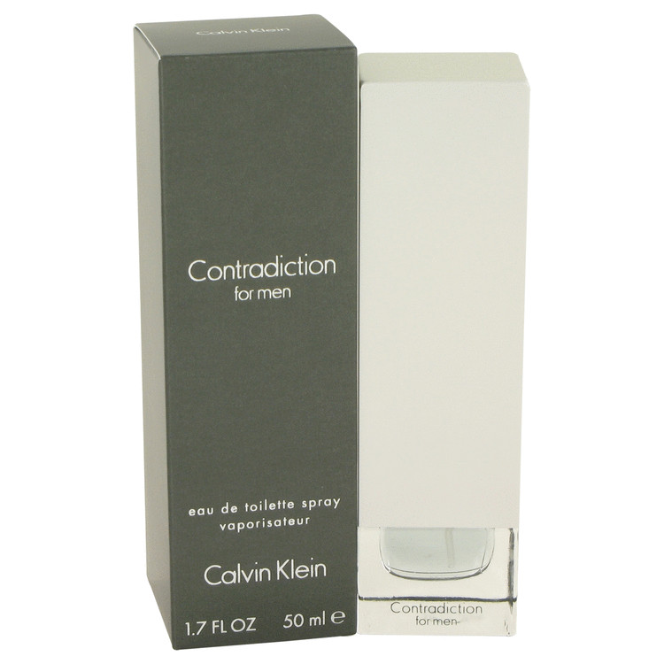 Contradiction Eau De Toilette Spray By Calvin Klein 50ml