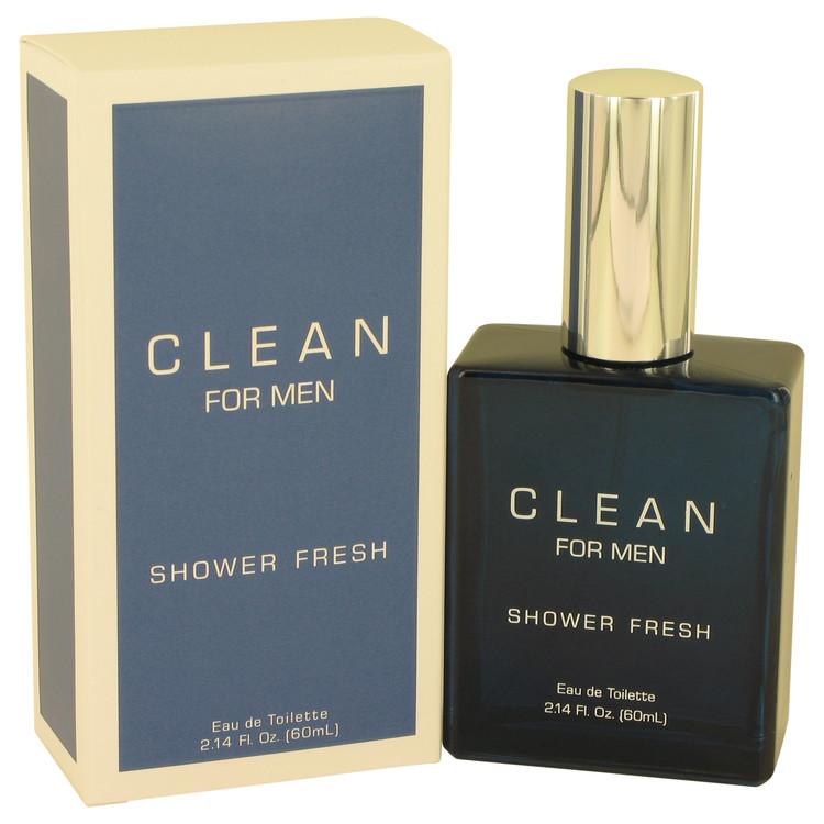 Clean Shower Fresh by Clean for Men Eau De Toilette Spray 2.14 oz