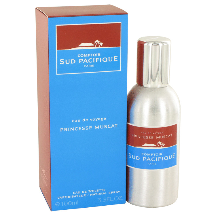COMPTOIR SUD PACIFIQUE Princesse Muscat by Comptoir Sud Pacifique for Women Eau De Toilette Spray 3 oz