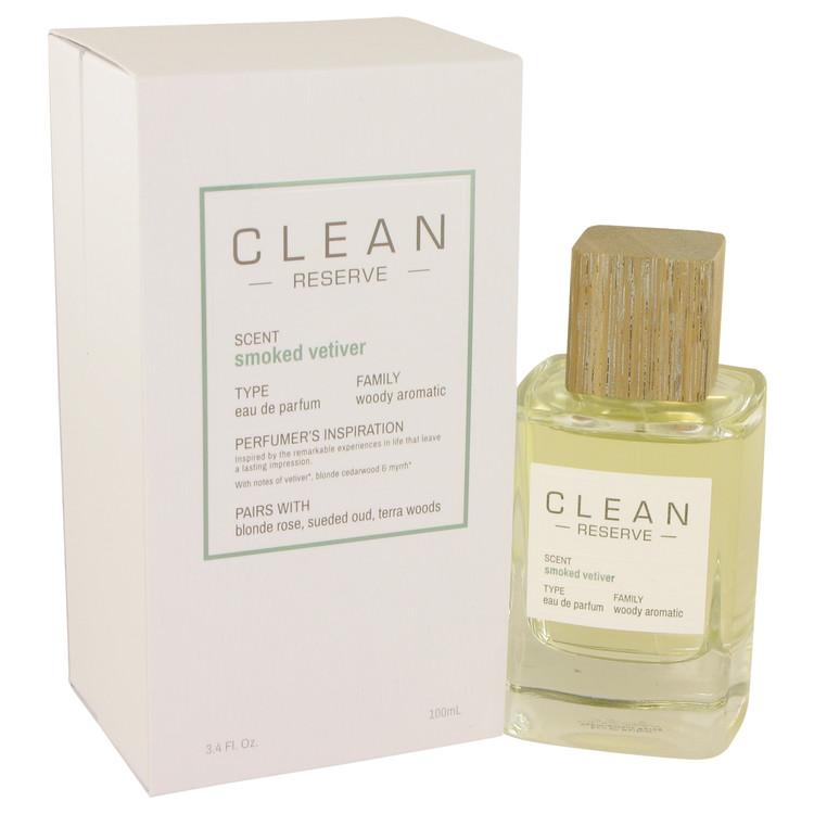 Clean Smoked Vetiver Eau De Parfum Spray By Clean 100ml