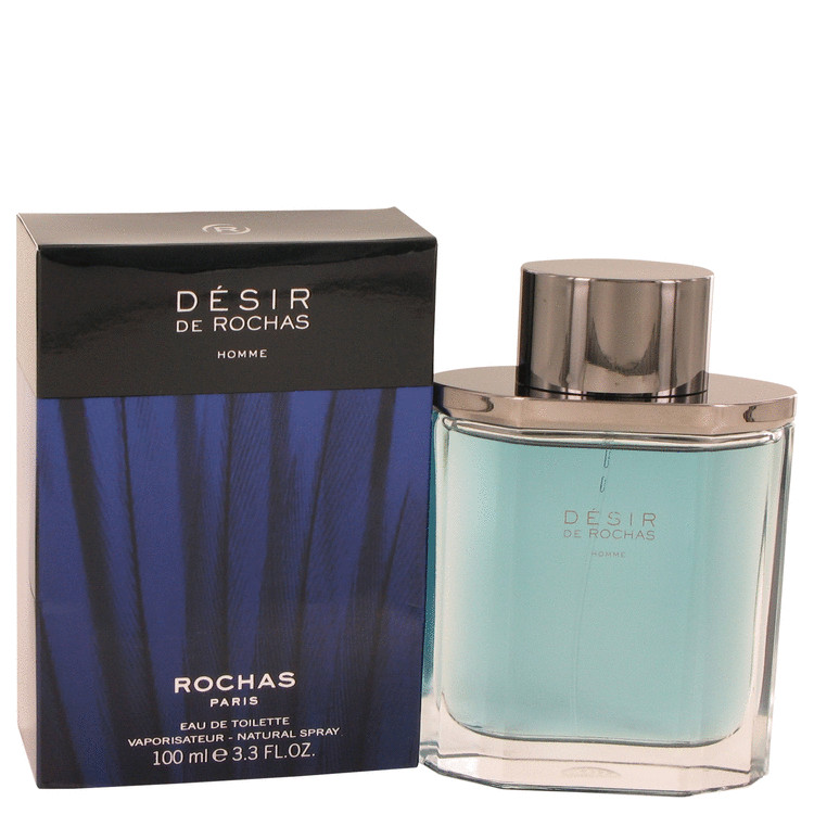 Desir De Rochas by Rochas for Men Eau De Toilette Spray 3.3 oz