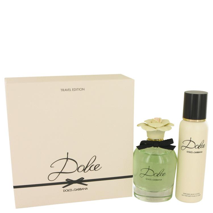 Dolce by Dolce & Gabbana for Women Gift Set -- 2.5 oz Eau De Parfum Spray + 3.3 oz Body Lotion