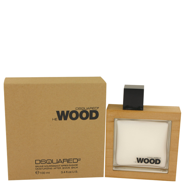 He Wood by Dsquared2 for Men After Shave Balm 3.4 oz